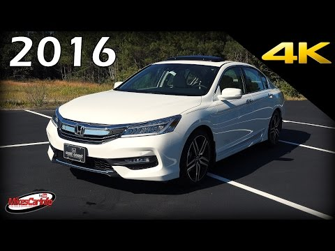 2016 Honda Accord Touring V6 - Ultimate In-Depth Look in 4K