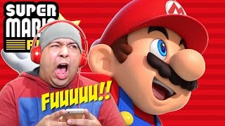 WHY IS IT SO F#%KING HARD!? (pause) [SUPER MARIO RUN] [#03]