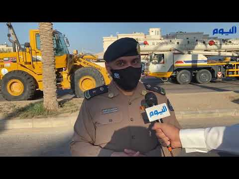 بعد هبوط أرضي في برج.. الدفاع المدني يوضح حالة الشخص المحتجز تحت الأنقاض