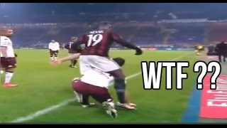 Funny Football Moments 2016 - Fails, Dives, Bloopers