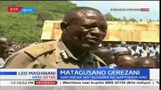 Wafungwa watoa malalamishi yao katika matagusano ya Kodiagaa katika kaunti ya Kisumu