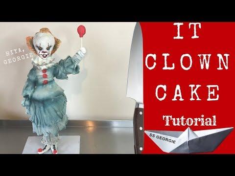 IT CLOWN CAKE | Halloween Party Tutorials