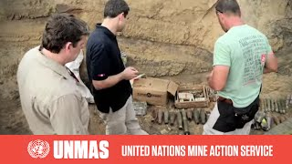 preview picture of video 'UNMAS Rapid Response in Brazzaville, Congo'