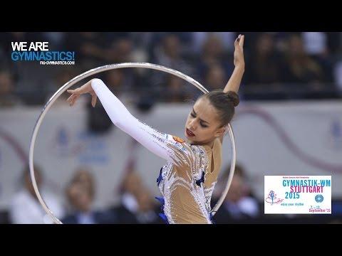 Margarita MAMUN (RUS) 2015 Rhythmic Worlds Stuttgart - Qualifications Hoop