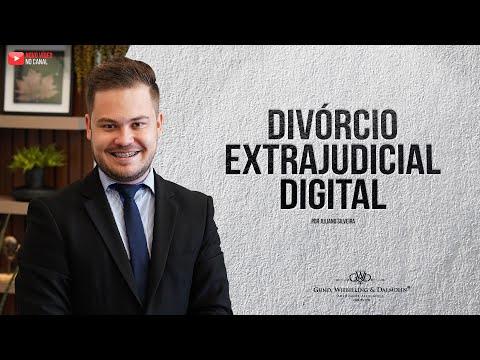 Divórcio Extrajudicial Digital