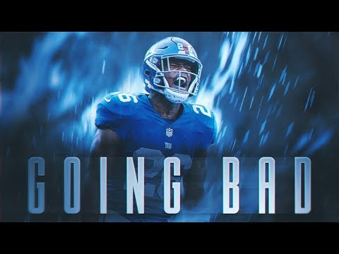 Saquon Barkley Ft. Meek Mill & Drake - GOING BAD (2018 Giants Highlights) ᴴᴰ