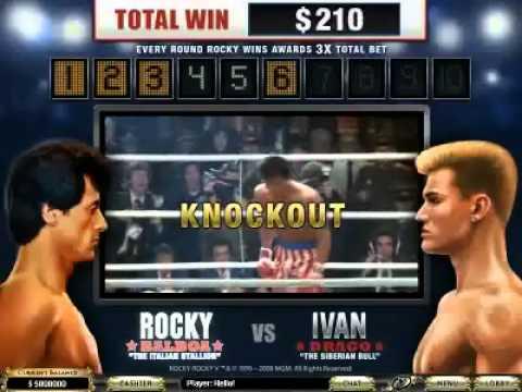 """Und wieder ein Film–Slot von Playtech: """"Rocky"""""""
