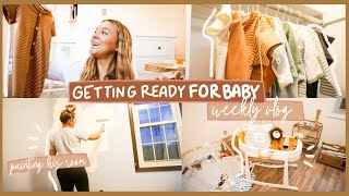 WEEK IN MY LIFE...GETTING BABY'S ROOM READY/BABY UPDATES #vlogmas2020