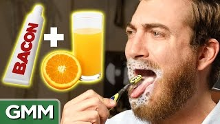 Toothpaste and Orange Juice Experiment