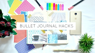 10 Bullet Journal Hacks & Ideas