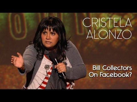 I am Just Glad Bill Collectors Are Not On Facebook - Cristela Alonzo