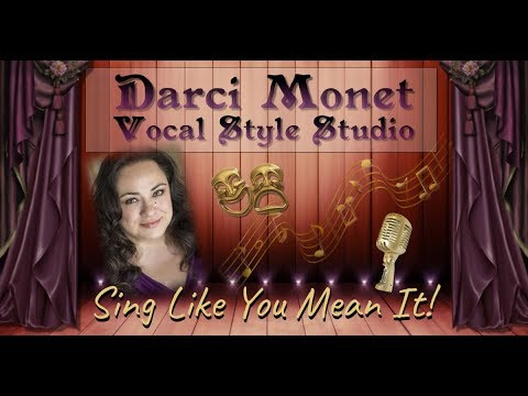 Meet Darci and learn a little bit about her background and the Darci Monet Vocal Style Studio!