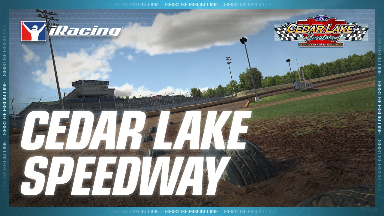 iRacing: Cedar Lake Speedway for December Release
