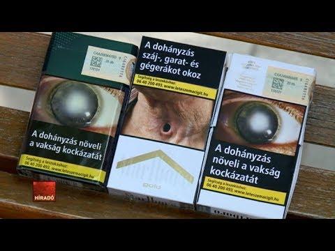 A testet, miközben leszokott a dohányzásról