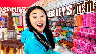 I TURNED OUR HOUSE INTO A REAL LIFE CANDY STORE!! (GIRLS ONLY)