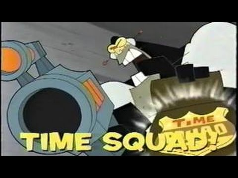 Old Cartoon Network Promo - Time Squad (July, 2002)