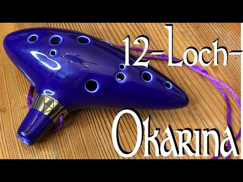 Eine 12-Loch-Okarina aus Keramik (Zelda), Instrumentenvorstellung #30