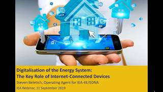 Webinar: the Key Role of Internet Connected Devices