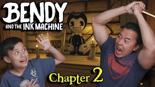 INK MONSTERS!!!! BENDY and the INK MACHINE - Chapter 2 THE OLD SONG
