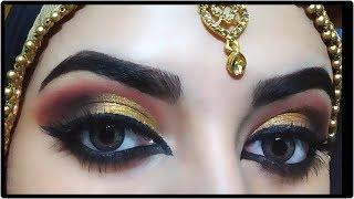 AFFORDABLE INDIAN BRIDAL MAKEUP TUTORIAL💛