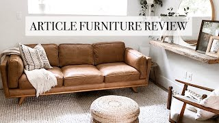 Article Furniture Review - How To Clean A Leather Couch