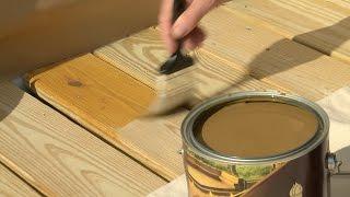 Choosing A Deck Stain