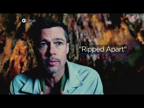 Weird Brad Pitt segment is straight out of Zoolander