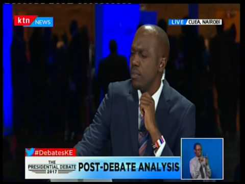 Post debate analysis: Presidential Debate 2017