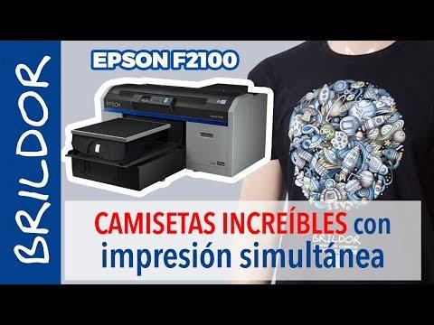 Impresora digital textil Epson SureColor SC-F2100 • Brildor ®