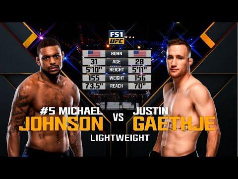 UFC Fight Night 94: Poirier vs. Johnson - Online video