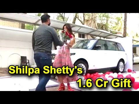 Shilpa Shetty39s Amazing Marriage Anniversary Gift From Husband Raj Kundra Range Rover Worth 16 Cr