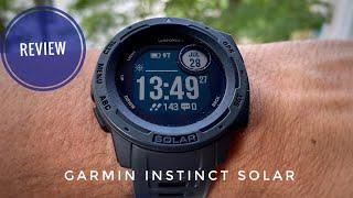 Garmin Instinct Solar Review: Ausdauer hat sie aber ... (German)