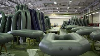 Производство гребных резиновых лодок