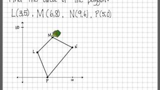 area and perimeter of polygons in coordinate plane