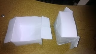 Making A Paper Bowl : Origami 5
