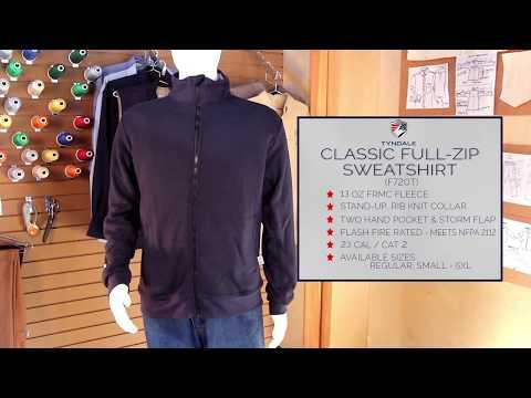Classic Full Zip Sweatshirt M737T