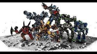 Transformers 3: Cast Robots (Linkin Park: Iridescant)