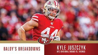 Baldy's Breakdowns: Kyle Juszczyk's Dominance vs. Vikings   49ers