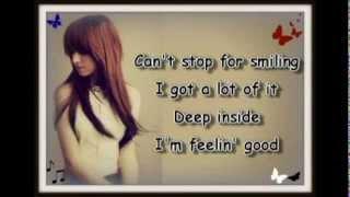 Christina Grimmie - Feelin' Good (lyrics)