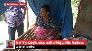 Kisah Penyandang Disabilitas, Bertahan Hidup dari Hasil Kursi Bambu