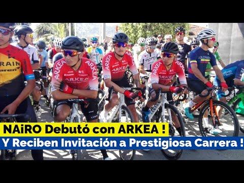 NAIRO QUINTANA Debuto con su Nueva Camiseta   ARKEA Invitado a Importante Carrera en Europa