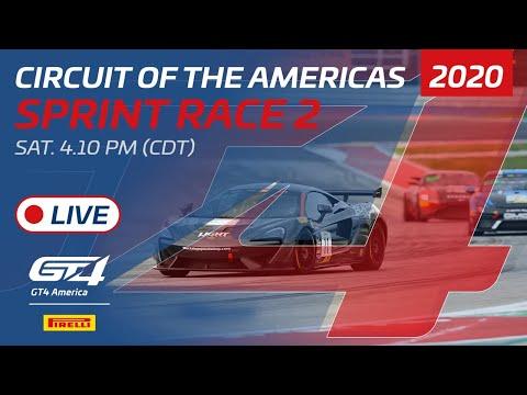 2020年 ブランパンGTワールドチャレンジ・アメリカ(COTA)GT4SPINT レース2 レースライブ配信動画