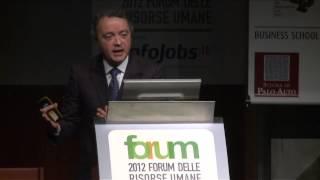 Youtube: Intervento di Aldo Calza, Forum Delle Risorse Umane 2012