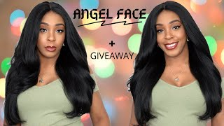 Sensationnel Curls Kinks & Co Synthetic Empress Lace Front Wig- ANGEL FACE +GIVEAWAY --/WIGTYPES.COM