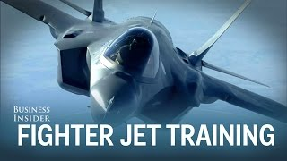 This is how pilots train to fly America's most expensive fighter jets