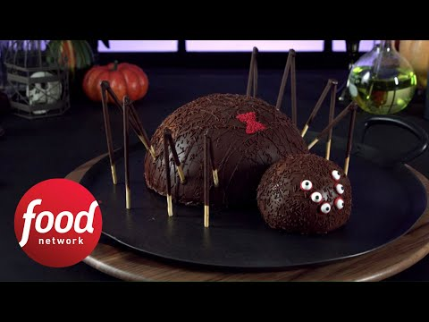 Surprise Spider Cake | Food Network