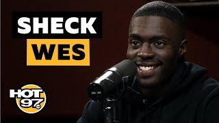 Ebro In The Morning - Sheck Wes Opens Up On Being Sent To Africa, Dapper Dan Stories & Meeting Kanye West