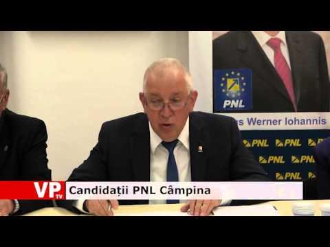 Candidații PNL Câmpina