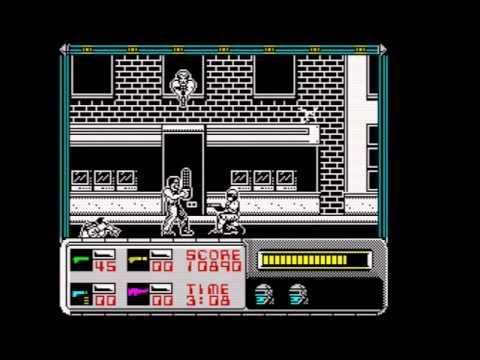 Oglądaj: RoboCop Walkthrough, ZX Spectrum