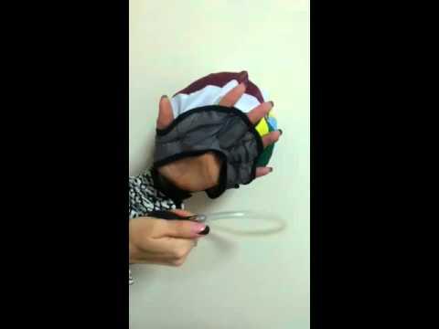 Инструкция - тренажер для разработки кисти